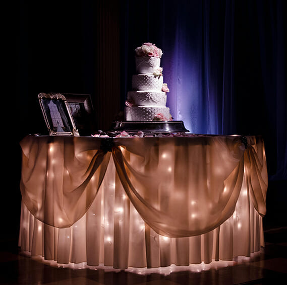 North Texas Wedding Lighting Experts