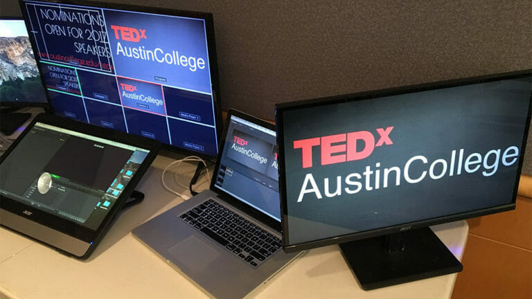 TEDx Austin College production command central