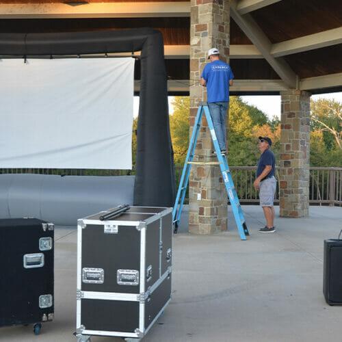 Movie in the Park in Sherman, TX | Cadence Studios