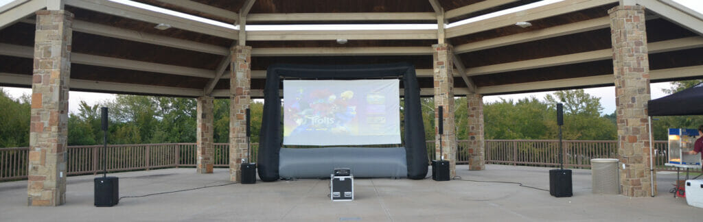 Movie in the Park in Sherman, TX | Cadence Studios