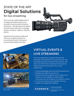 Live Streaming by Cadence Studios | Event Production & Marketing in Sherman, TX